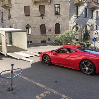 Ferrari 458 Italia Милан (Италия) - Москва (РФ)