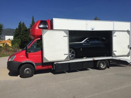 Lamborghini Aventador и Rolls-Royce Wraith Барселона (Испания) - Рига (Латвия)