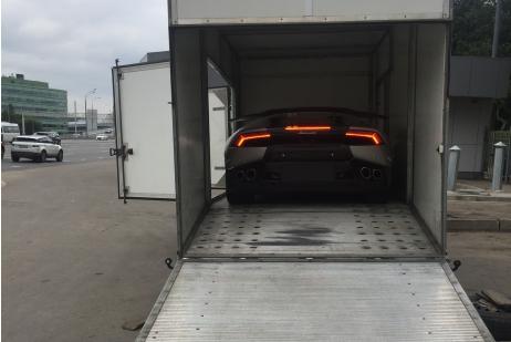 Lamborghini Huracán доставка Монако - Москва (РФ)