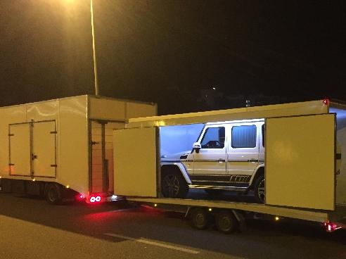 Mercedes-Benz G63 AMG Ницца (Франция) - Москва (РФ)