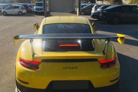Porsche 911 GT2 RS Москва (РФ) - Салоники (Греция)