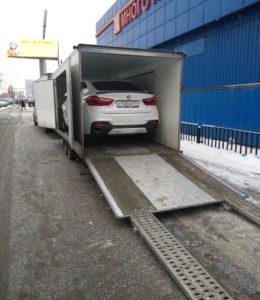 BMW X6 Москва (РФ) - Вена (Австрия)