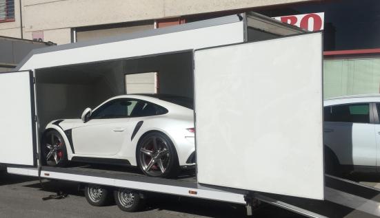 Перевозка Porsche Stinger на выставку в Марбелью (Испания)