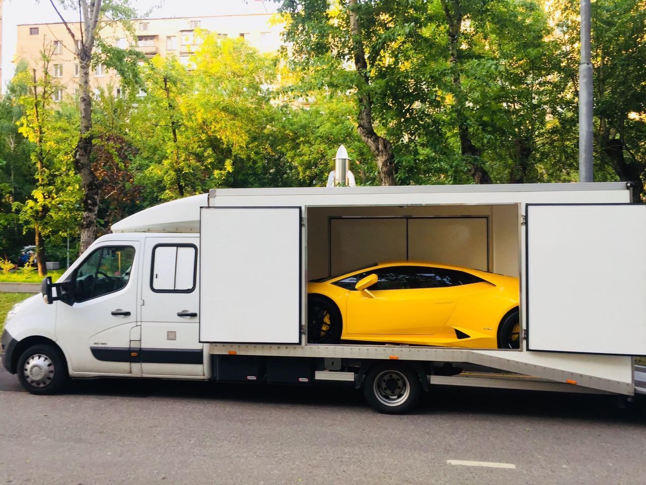 Перевозка Москва - Мюнхен Lamborghini Huracan