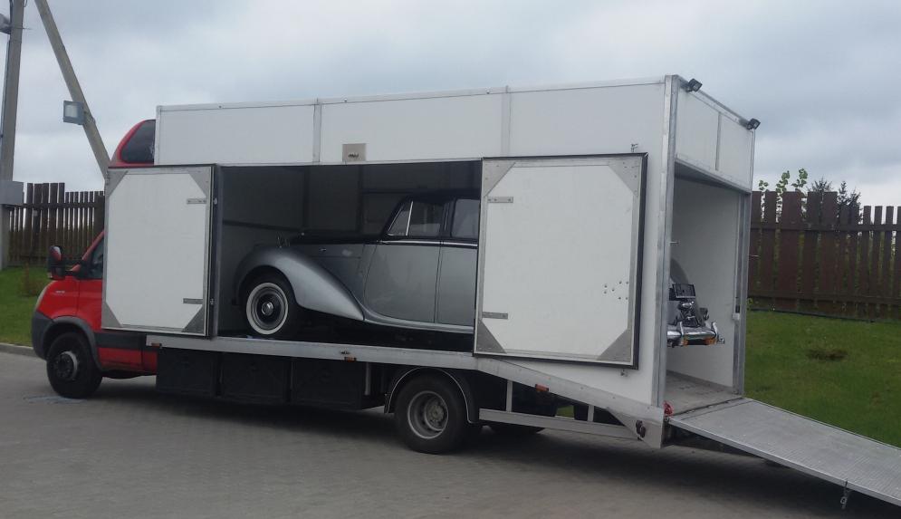 Перевозка ретро Bentley 1956 г. в. Германия - РФ