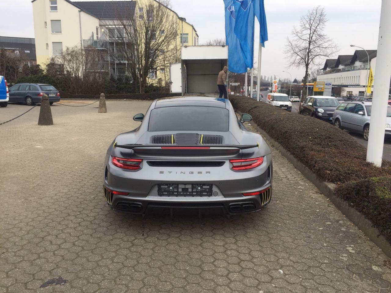 """Доставка премиум авто для """"тюнинг ателье TopCar"""" Porsche 991 Stinger Москва - Женевский автосалон 2018"""