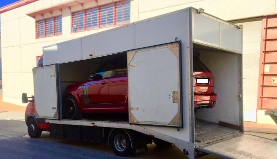 Перевозка Range Rover Vogue на автотюнинг по маршруту Киев (Украина) - Марбелья (Испания)